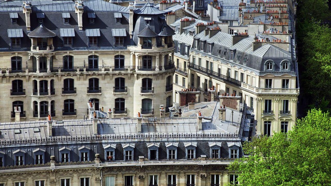 Dans le 7e arrondissement un hôtel particulier s'est vendu pour 40.000euros par mètres carrés.
