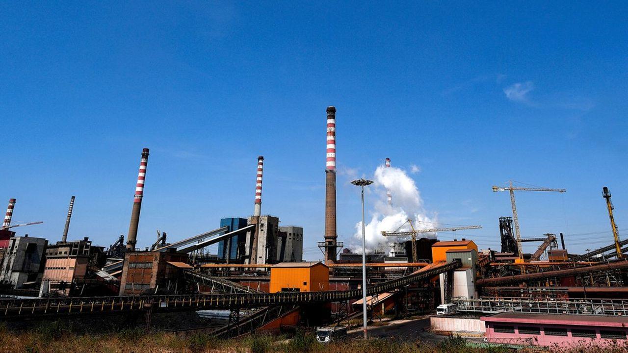 L'aciérie Ilva de Tarente, dans les Pouilles en Italie, a perdu des centaines de millions d'euros l'an dernier.