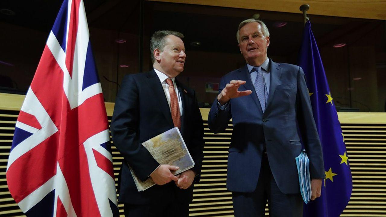 Lors du premier round de discussions de l'«après-Brexit», le négociateur européen Michel Barnier a insisté face au négociateur britannique David Frost sur les «divergences très sérieuses» qui les séparent.