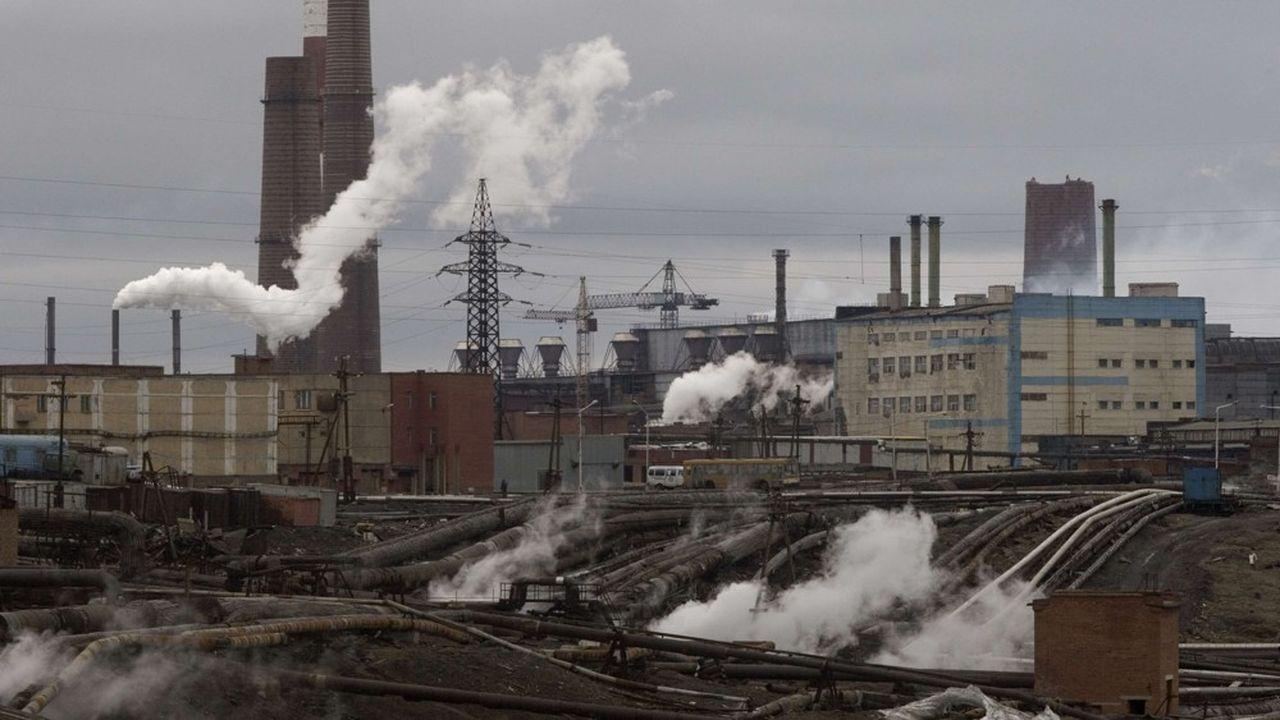 Les fumées des usines ont fait de Norilsk en Russie l'une des villes les plus polluées au monde.