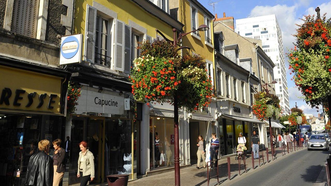 Centre-ville de Châteauroux