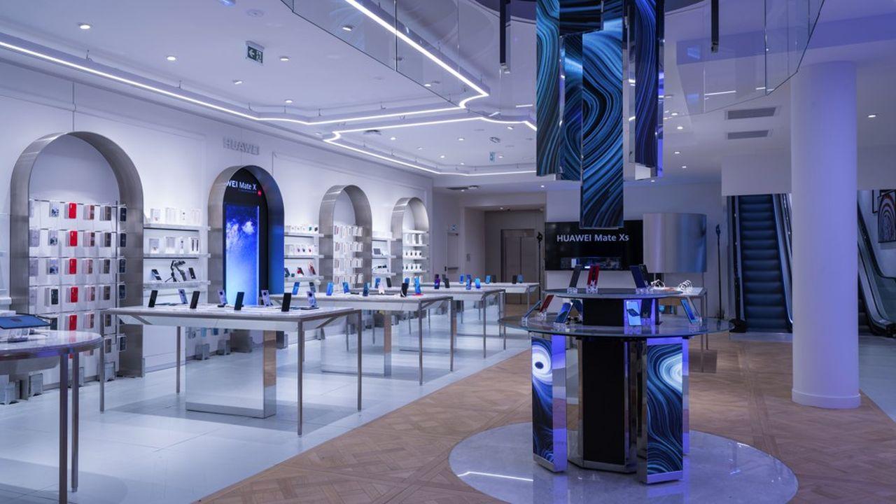 Huawei a inauguré ce jeudi à Paris son premier« flagship store» en France et son cinquième en Europe.
