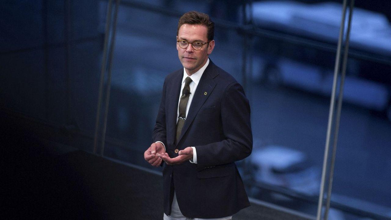 James Murdoch veut lutter contre la désinformation en ligne.