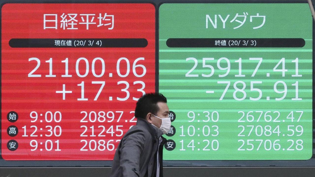 La Bourse de Tokyo a terminé en baisse de près de 3% vendredi.