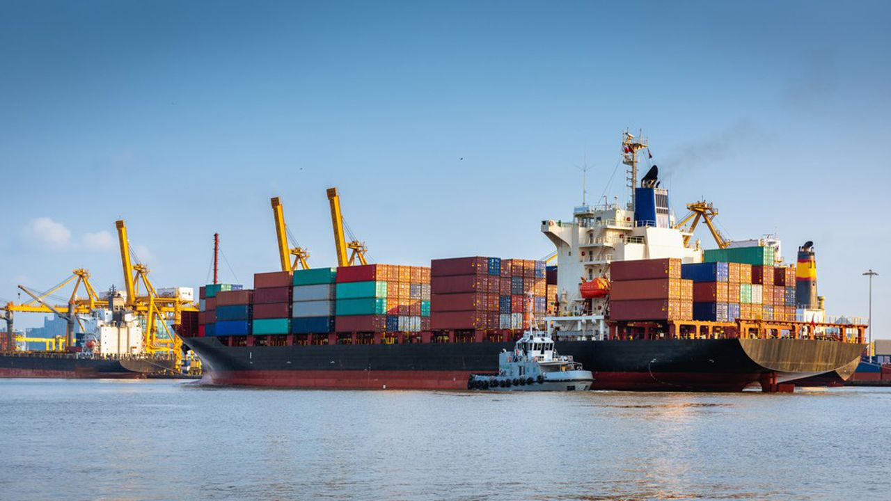 Le trafic de container en partance de Chine s'est fortement contracté depuis la fin du mois de janvier.