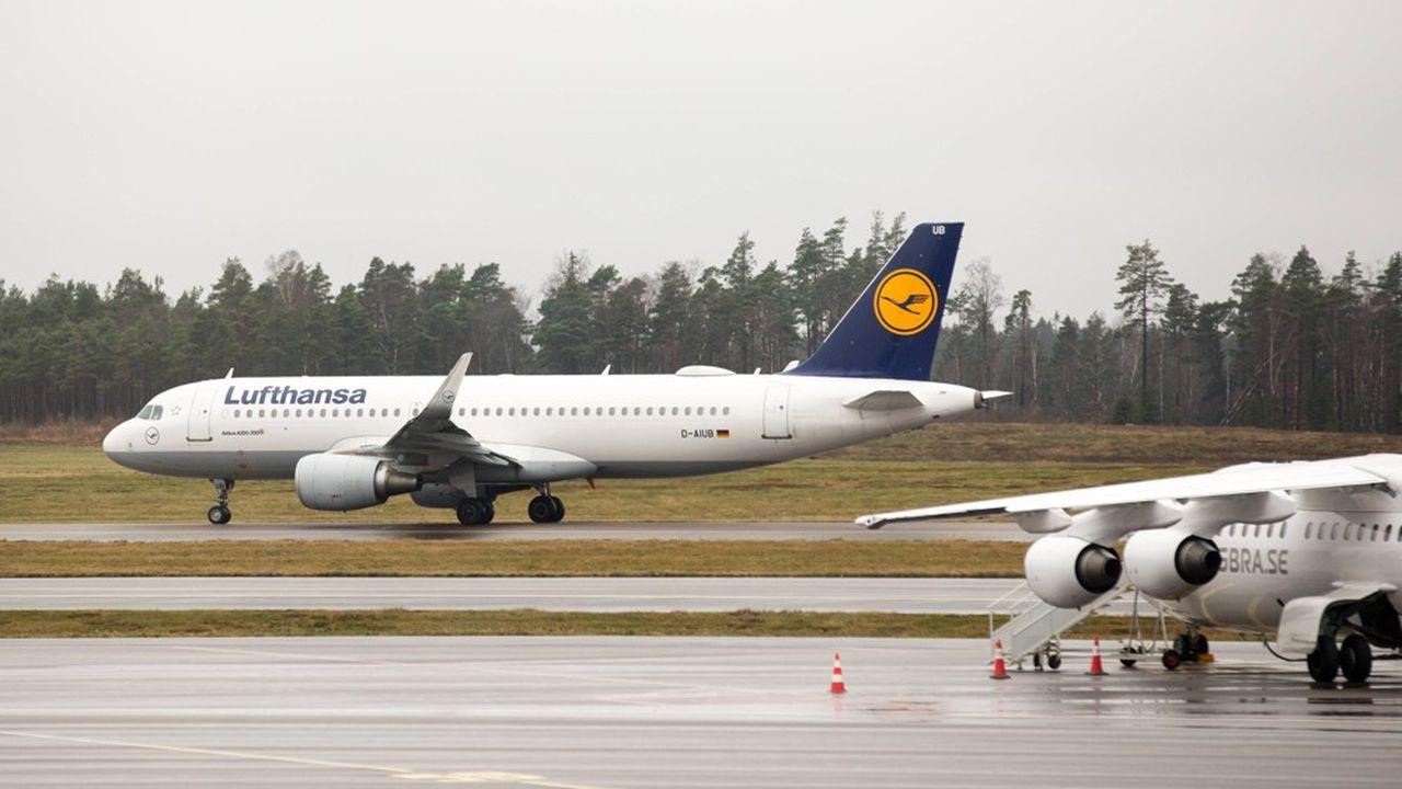 Lufthansa est le premier groupe de transport aérien en Europe.