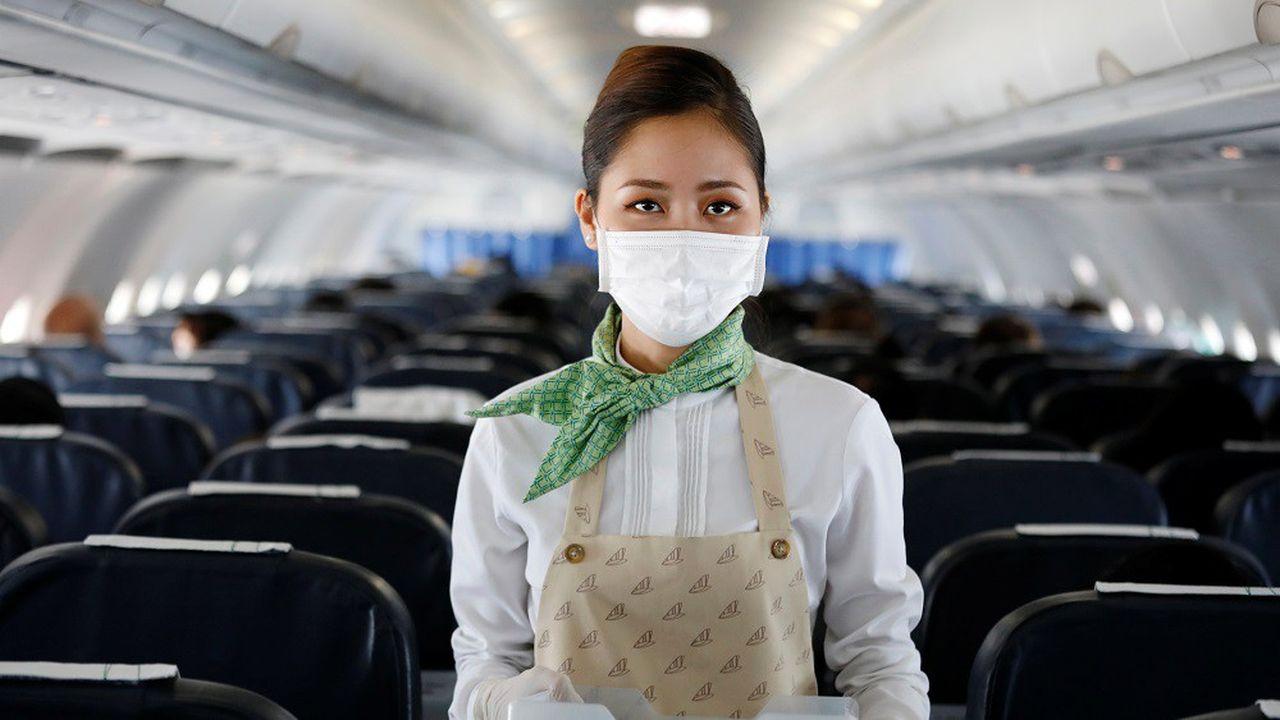 Plusieurs compagnies d'avion ont réduit leurs vols à la suite du coronavirus.