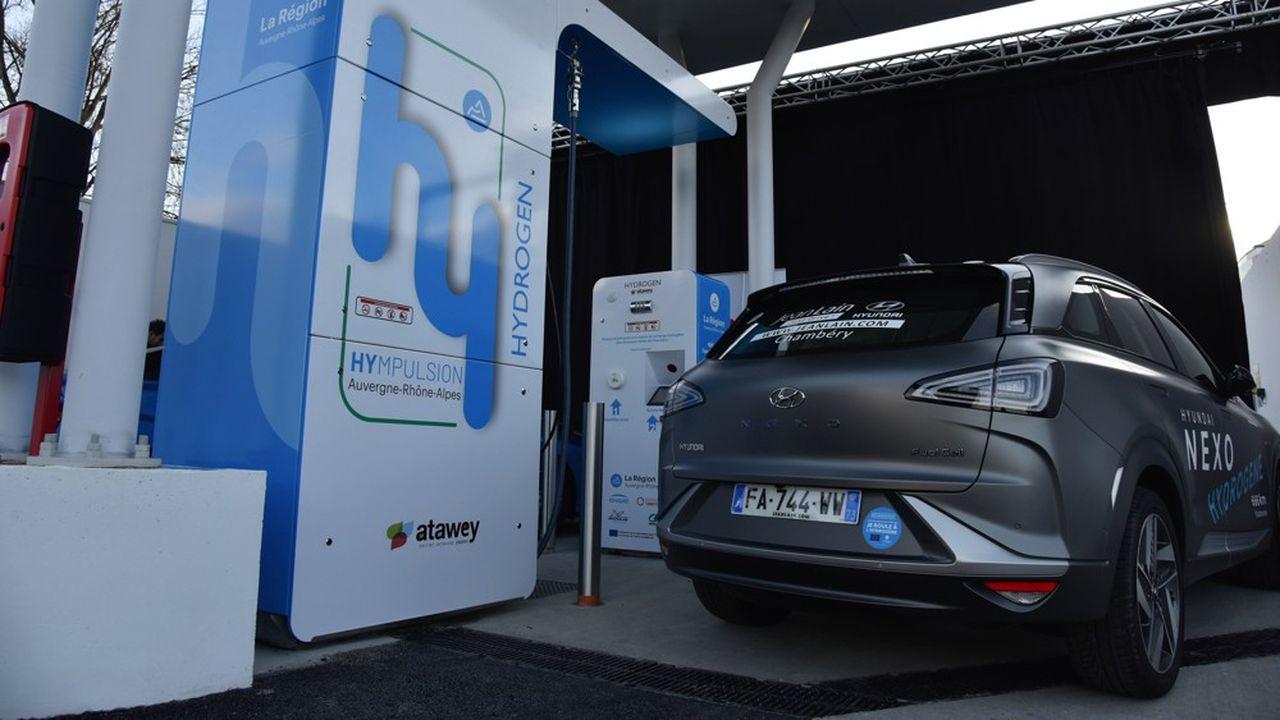 La première station à hydrogène à Chambéry sera d'abord utilisée par EDF, Engie et le concessionnaire auto Jean Lain.