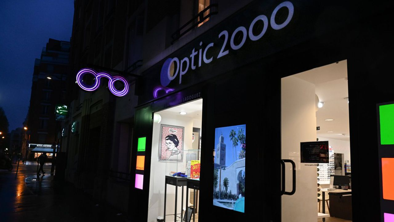 Les ventes d'Optic 2000 ont plongé de 27% en janvier.