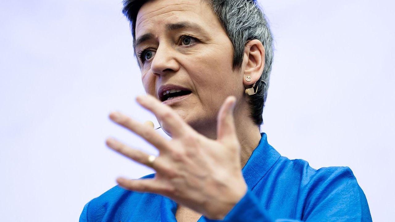 Margrethe Vestager, commissaire européenne à la Concurrence, promeut un droit qui tend à tenir pour suspecte la taille des plus grands opérateurs.