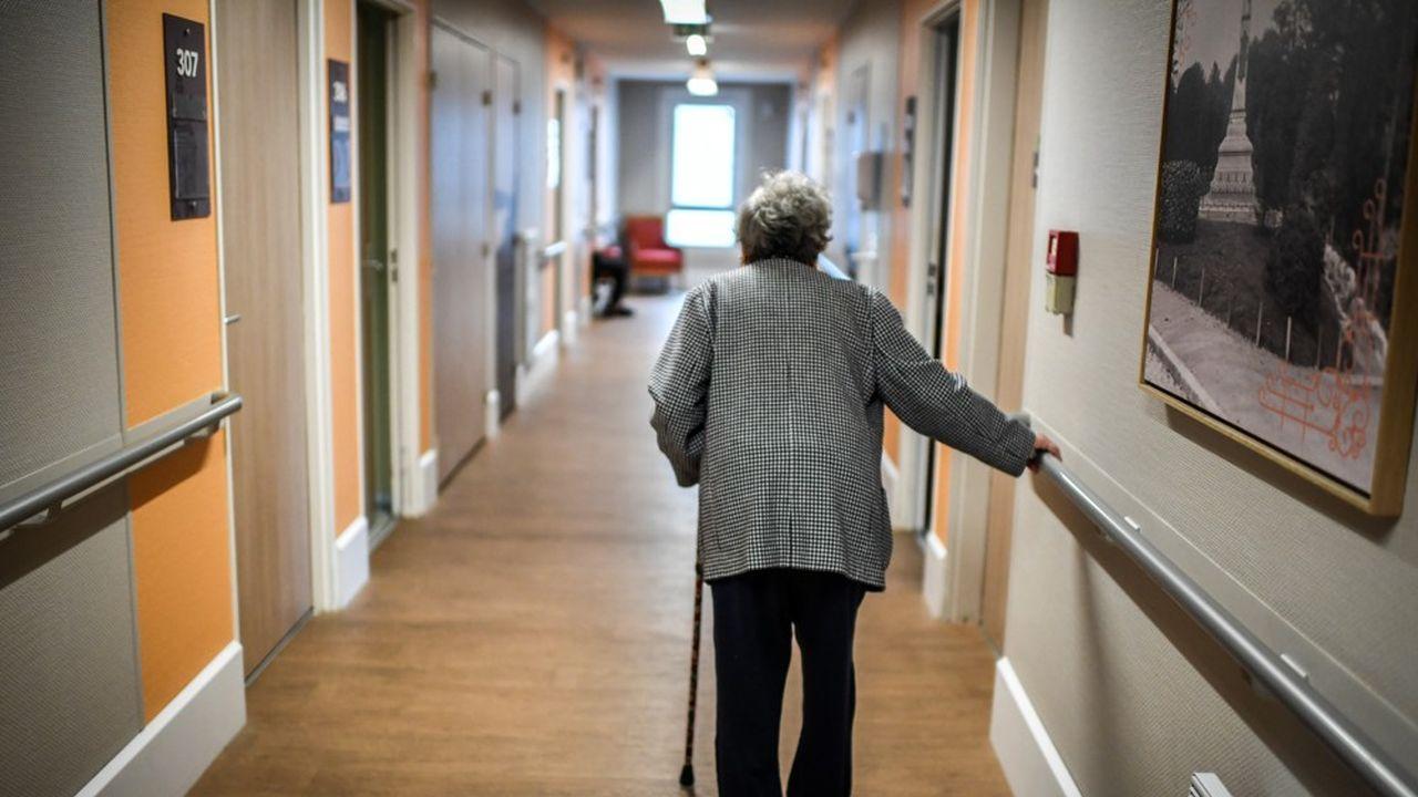 Des «mesures d'isolement et de restriction de visites» sont prévues pour les résidents particulièrement fragiles.