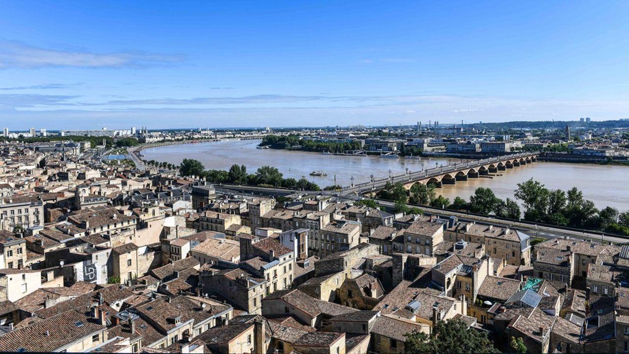 Le centre de Bordeaux.
