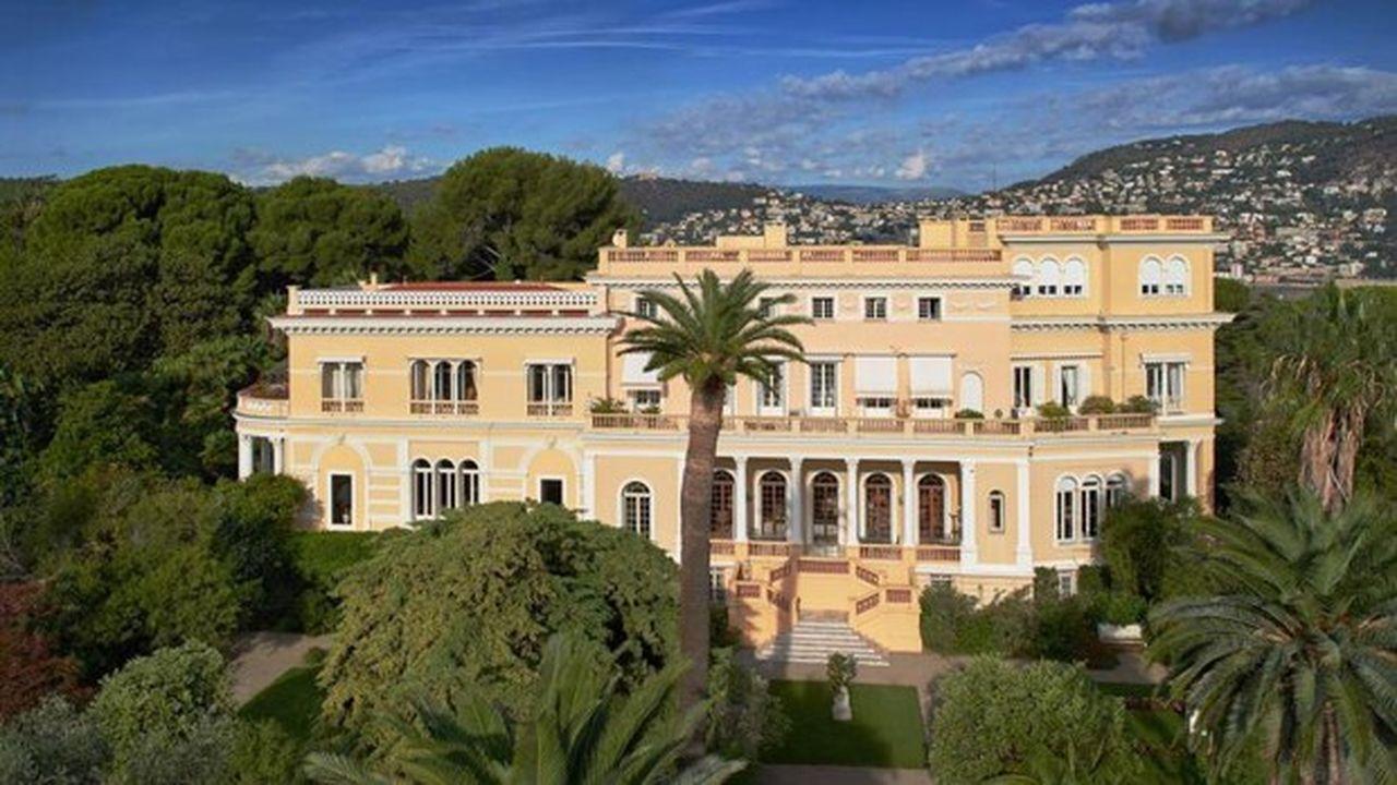 La célèbre villa Les Cèdres à Saint-Jean-Cap-Ferrat vendue 200millions d'euros en 2019