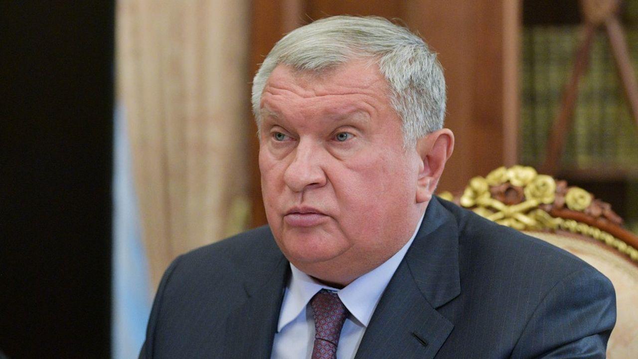 Igor Sechin le patron de Rosneft.