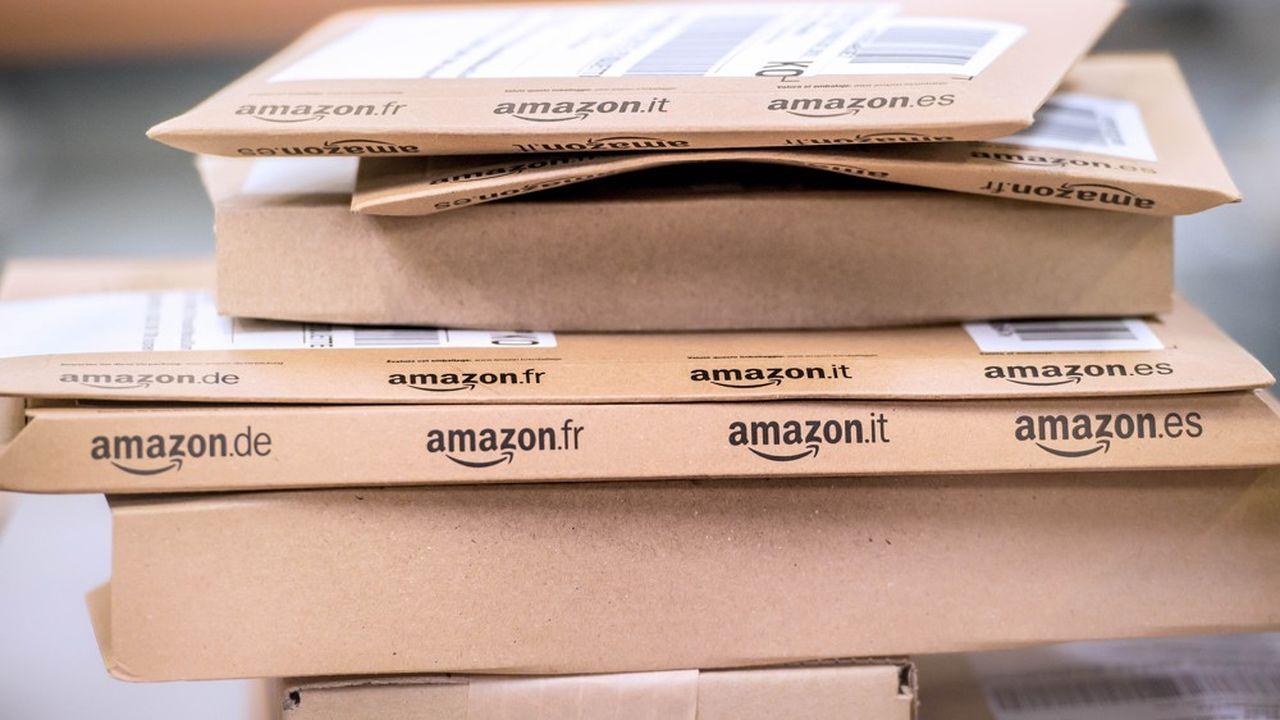 Amazon a livré 333millions d'articles en France en 2019.