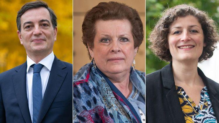 Alain Fontanel, Catherine Trautmann et Jeanne Barseghian.