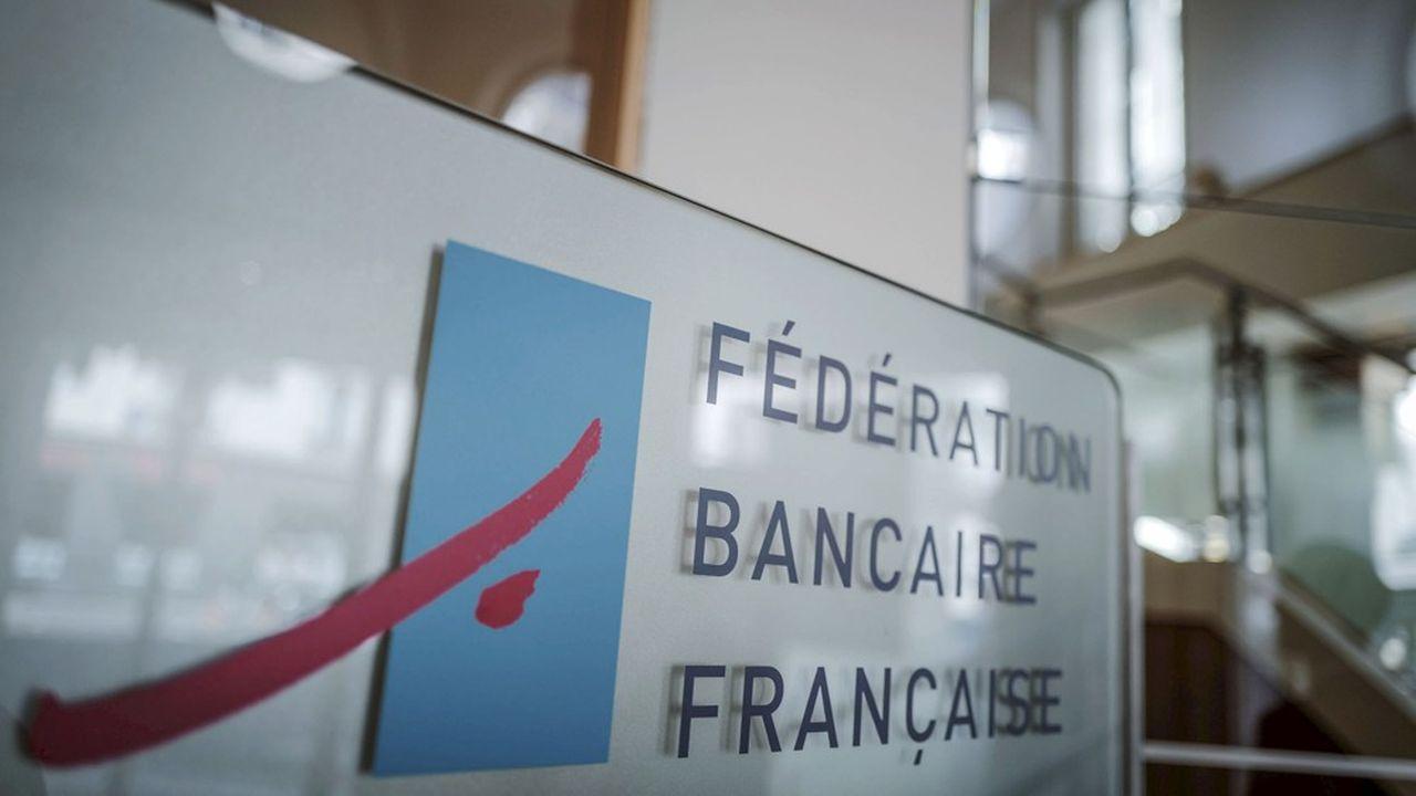 Marie Anne Barbat Layani, directrice generale de la federation bancaire francaise, Bruno Le Maire, ministre de l'economie