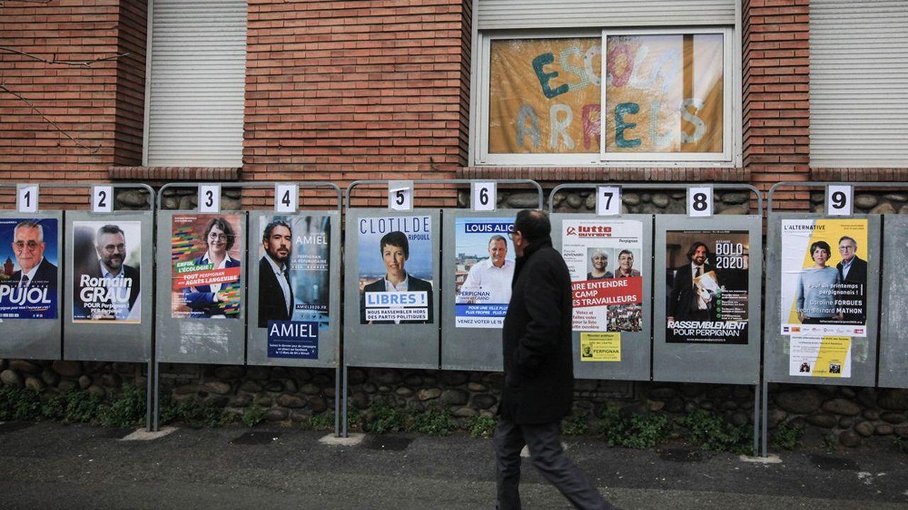 A Perpignan, les derniers sondages prêtent 35% au candidat frontiste Louis Aliot.