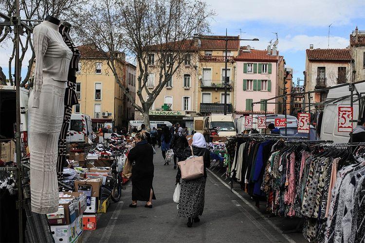 Le marché Cassanyes, dans le quartier Saint Jacques