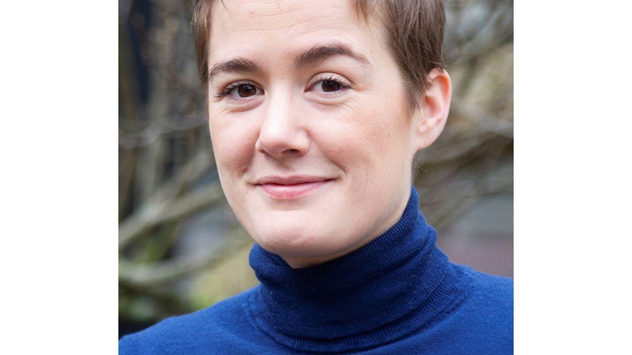 Sophie Cahen, la présidente-fondatrice de Ganymed Robotics.