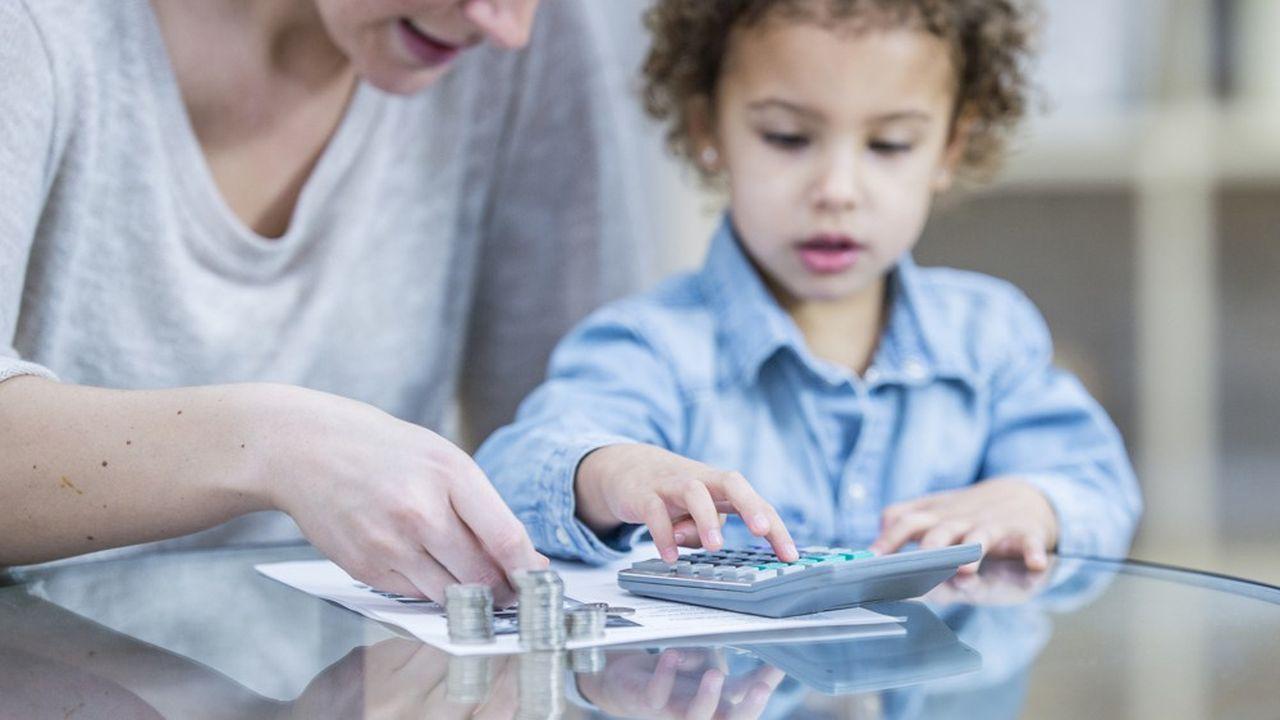 Les pensions versées pour l'entretien d'un enfant mineur sont déductibles en totalité.