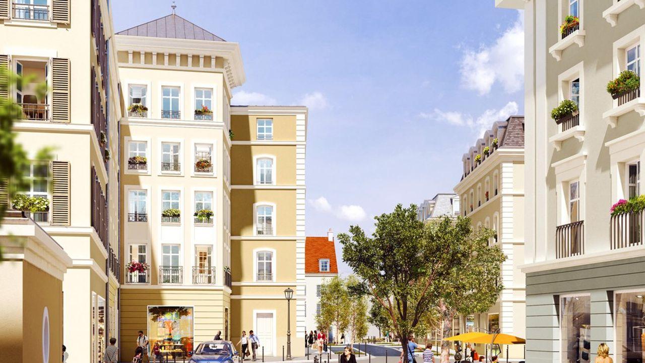 La résidence sera composée de 95 logements équipés et meublés allant du T1 au T3 et comprendra des locaux communs de services en rez-de-chaussée