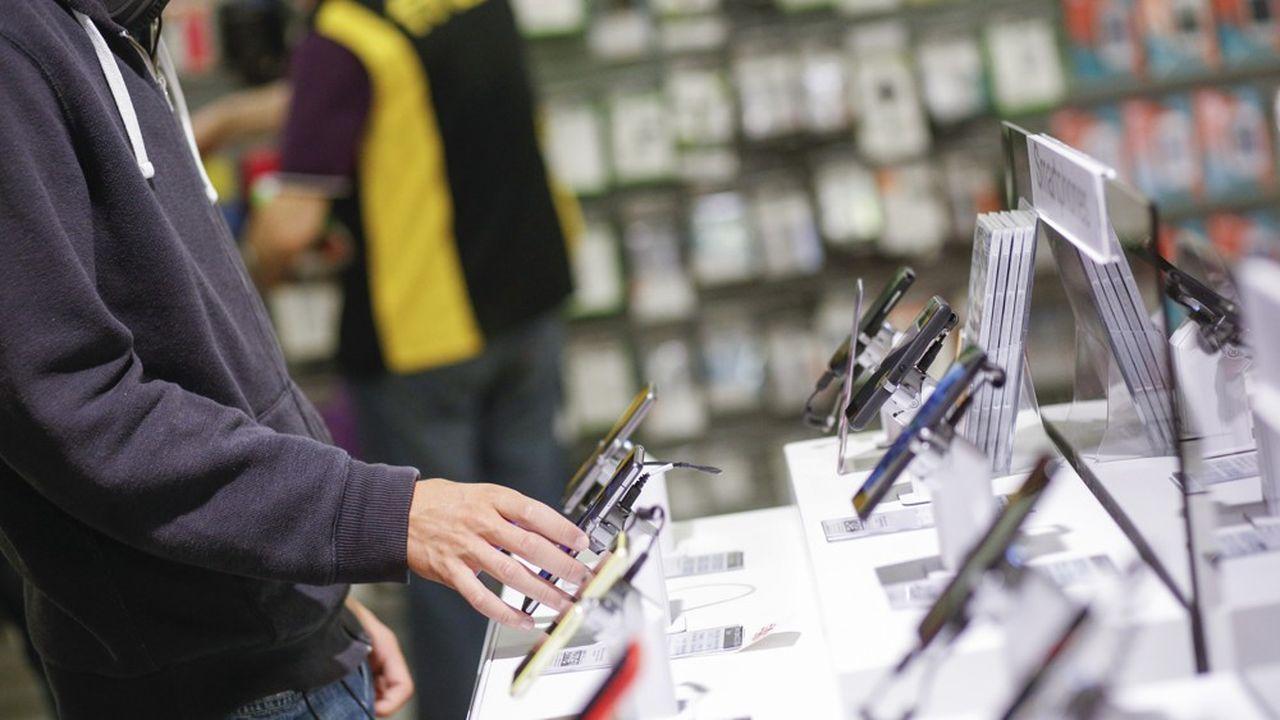 Les ventes de smartphones en France se maintiennent à leur niveau de 2019, selon l'institut GfK