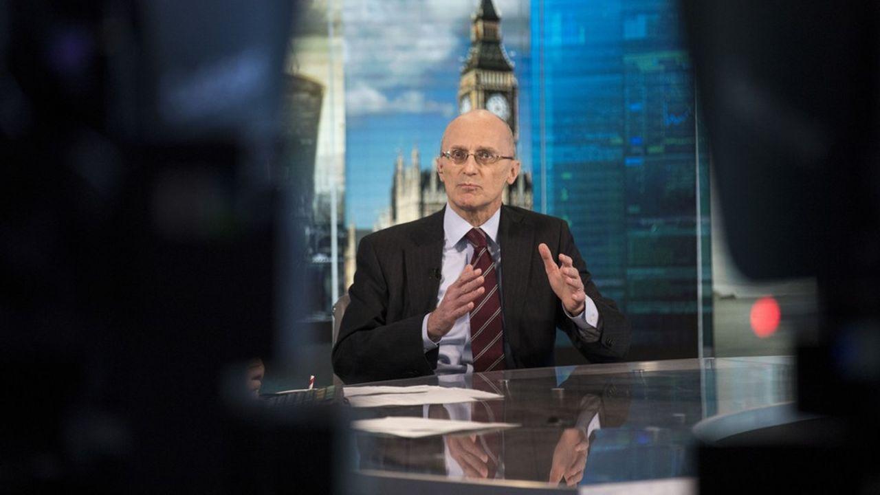 Andrea Enria, superviseur en chef des grandes banques de la zone euro, est en première ligne.