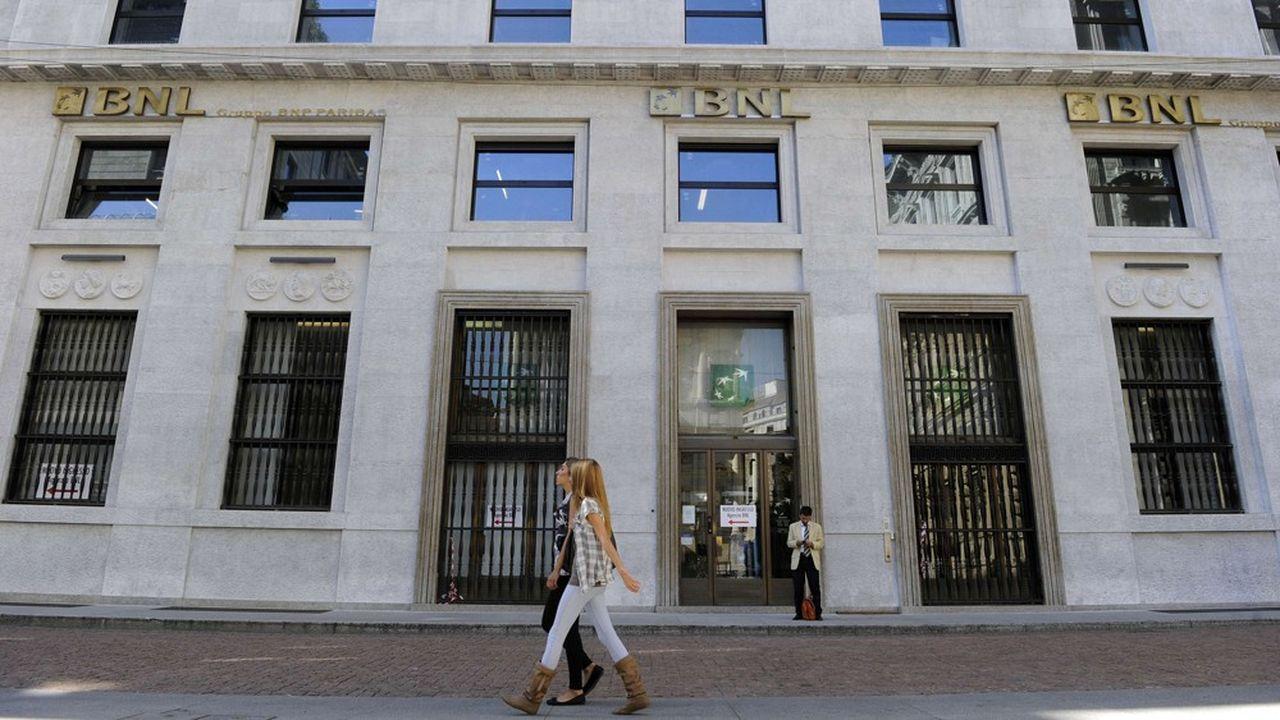 BNL est la filiale en Italie de BNP Paribas.