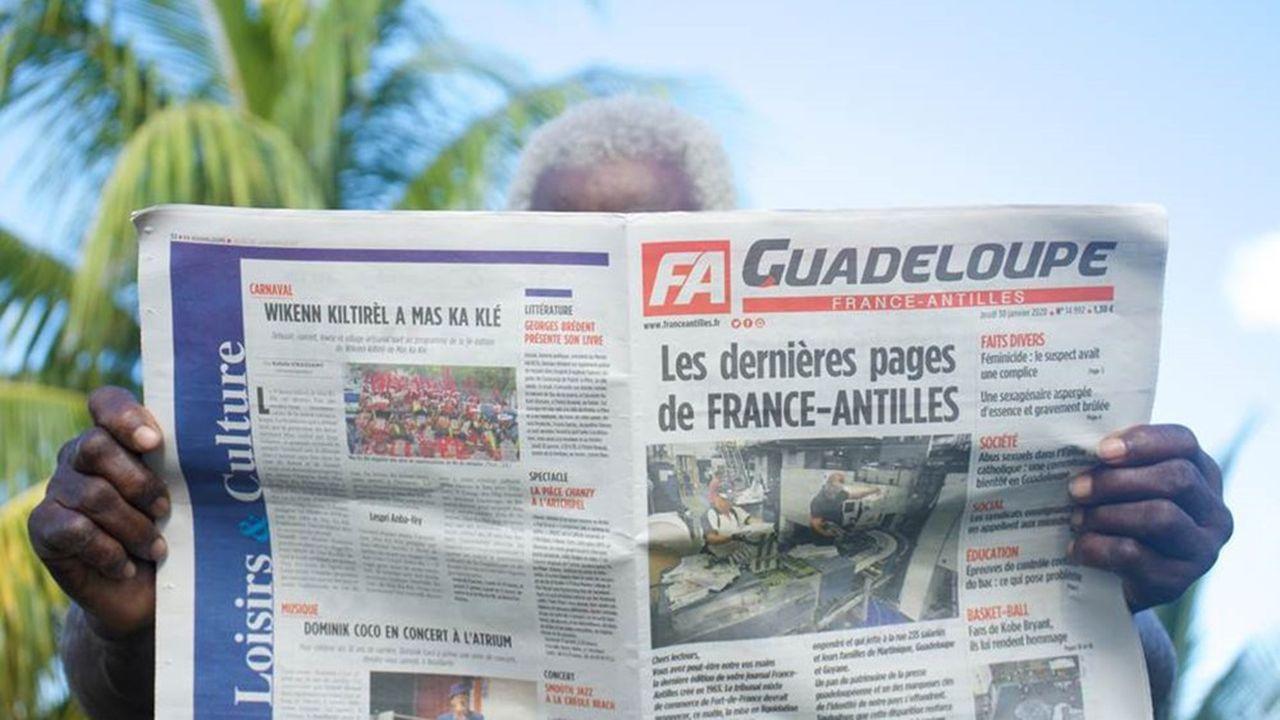 La décision du tribunal de commerce quant à une reprise par l'homme d'affaires Xavier Niel du seul journal quotidien présent Martinique, Guadeloupe et Guyane a été mise en délibérée au 17 mars.