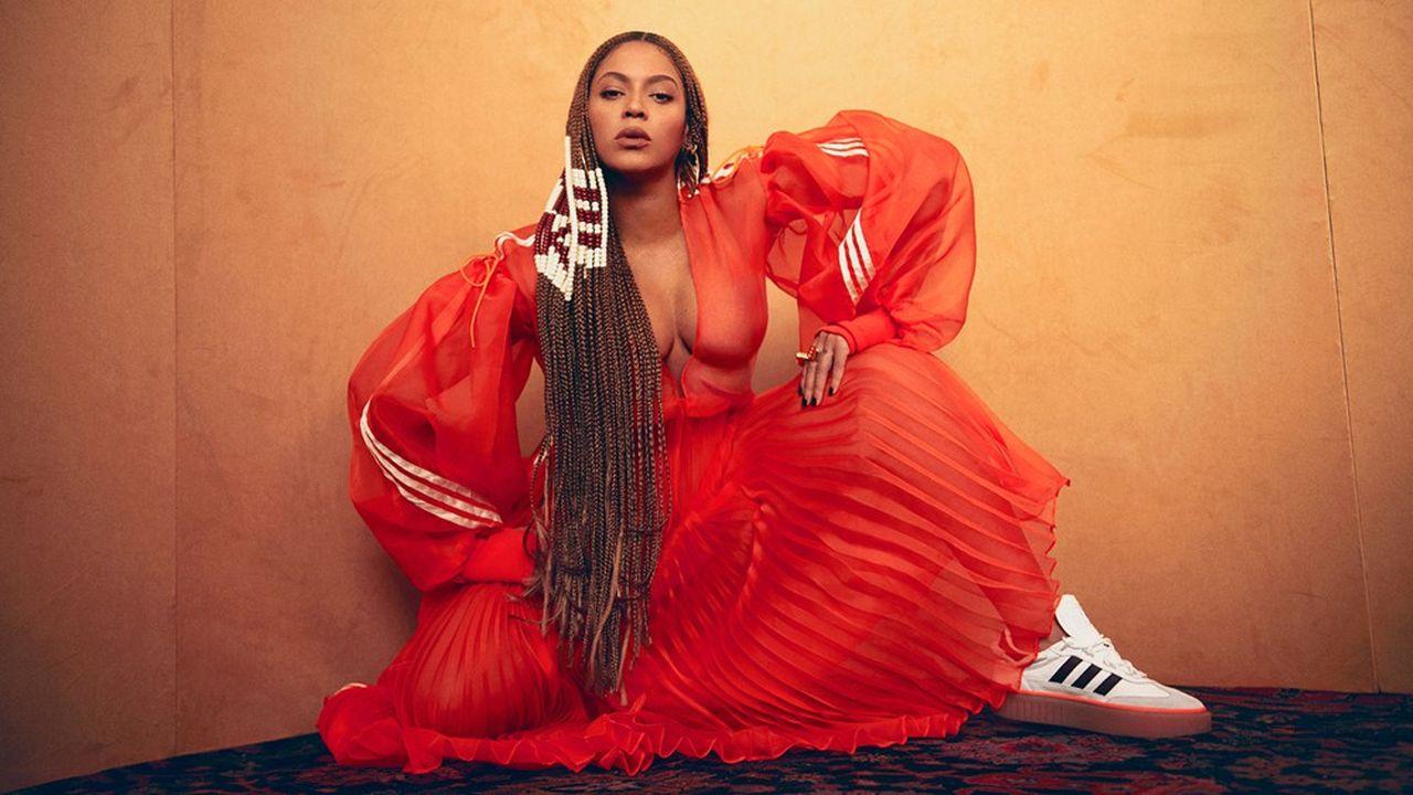 Adidas a recruté la chanteuse Beyoncé comme égérie et comme co-créatrice d'une nouvelle collection baptisée «Ivy Park».