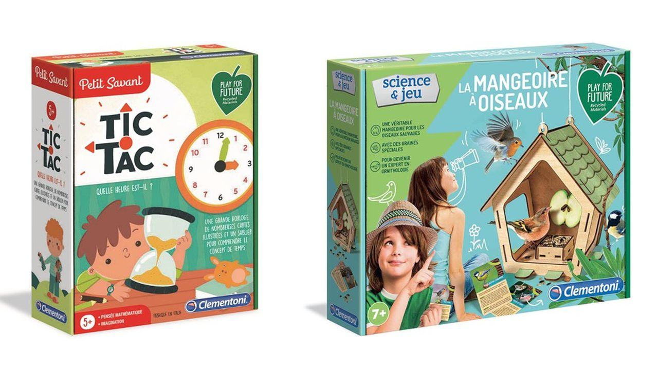 Une centaine de jeux et jouets en matériaux recyclés et recyclables seront en magasin d'ici Noël.