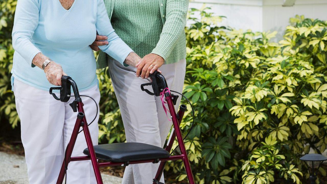 D'ici 2040, 1,2million de seniors seront touchés par la perte d'autonomie.