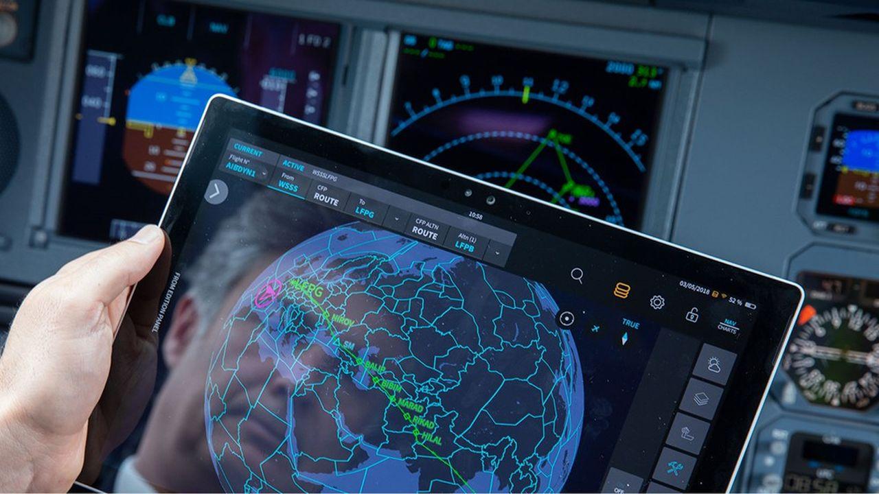 Les systèmes d'optimisation de la navigation font économiser 2 à 5% de la consommation de kérosène.
