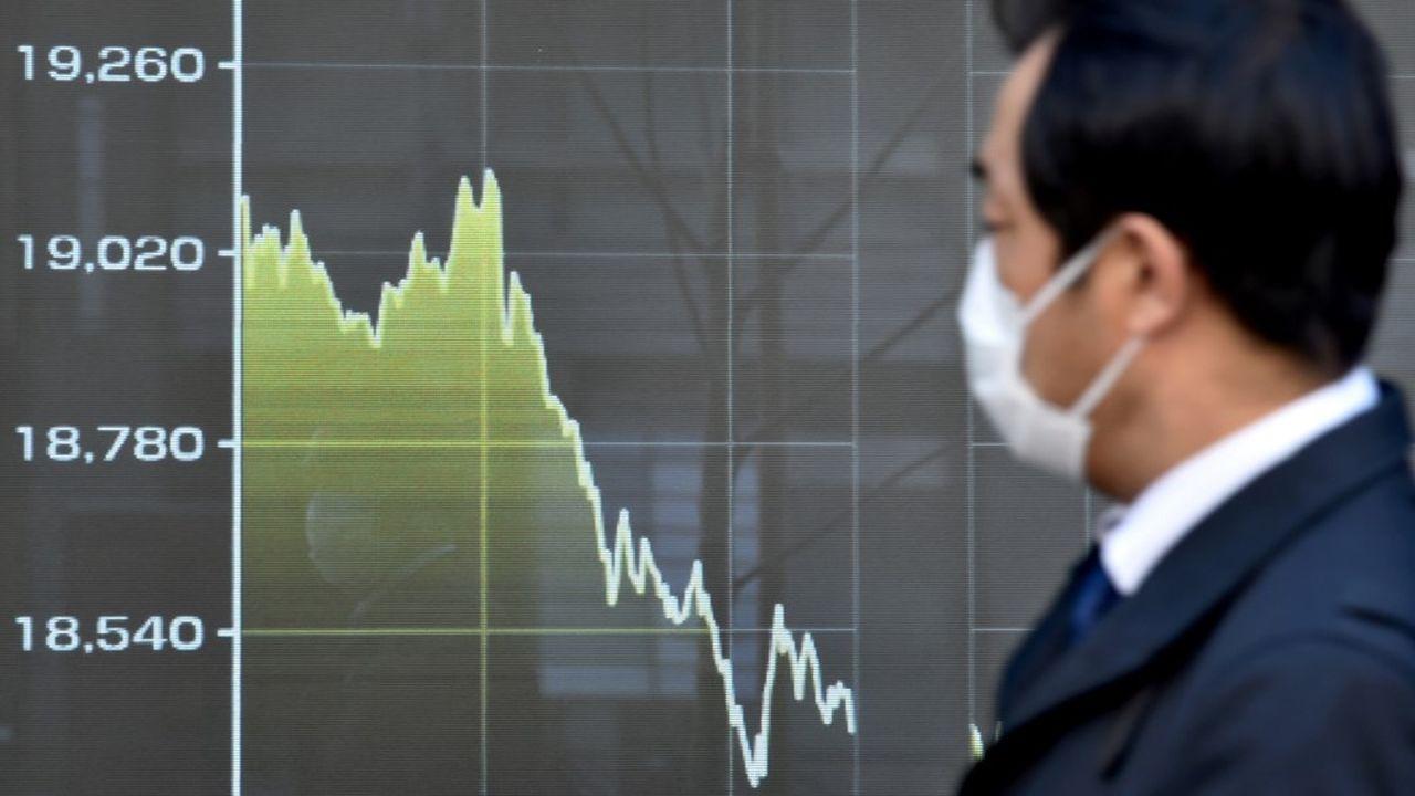 La plupart des grandes valeurs de la région Asie-Pacifique étaient sanctionnées, la Bourse de Sydney a clôturé sur la plus lourde perte en une journée depuis 2008.