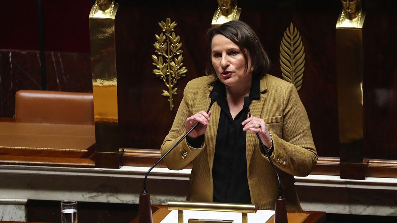 Elue du Tarn-et-Garonne, Valérie Rabault préside le groupe PS à l'Assemblée depuis avril2018.