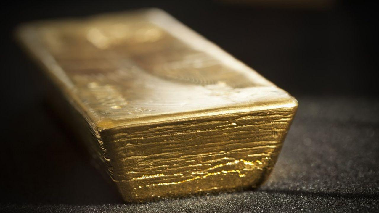 L'or est passé sous la barre des 1.600dollars l'once sur fond de krach boursier.