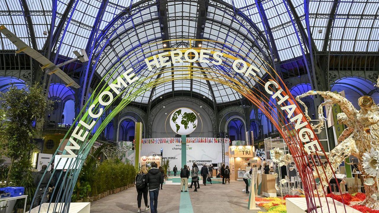 La dernière édition du ChangeNOW Summit, qui s'est tenue au grand Palais à Paris fin janvier, a compté 28.000 participants.