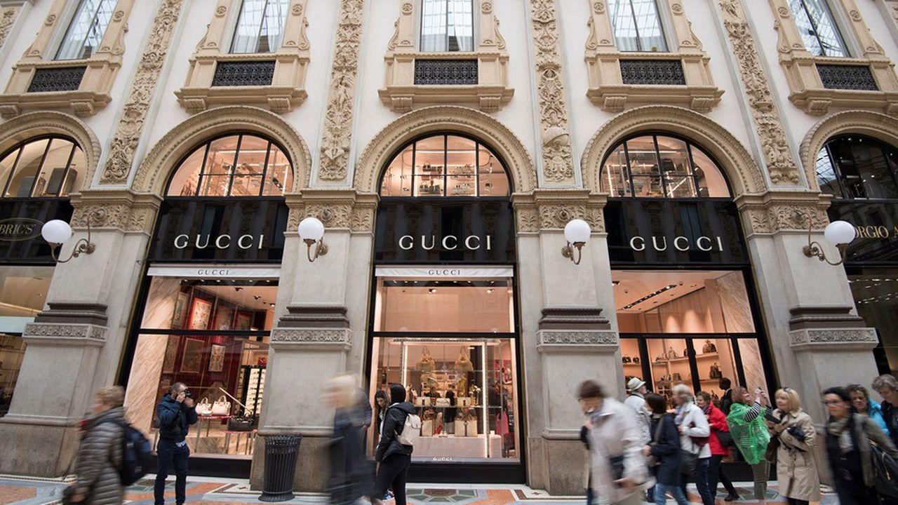 Avec sa marque star Gucci, mais aussi Bottega Venetta, Brioni ou Pomellato, Kering réalise la majorité de sa production en Italie.