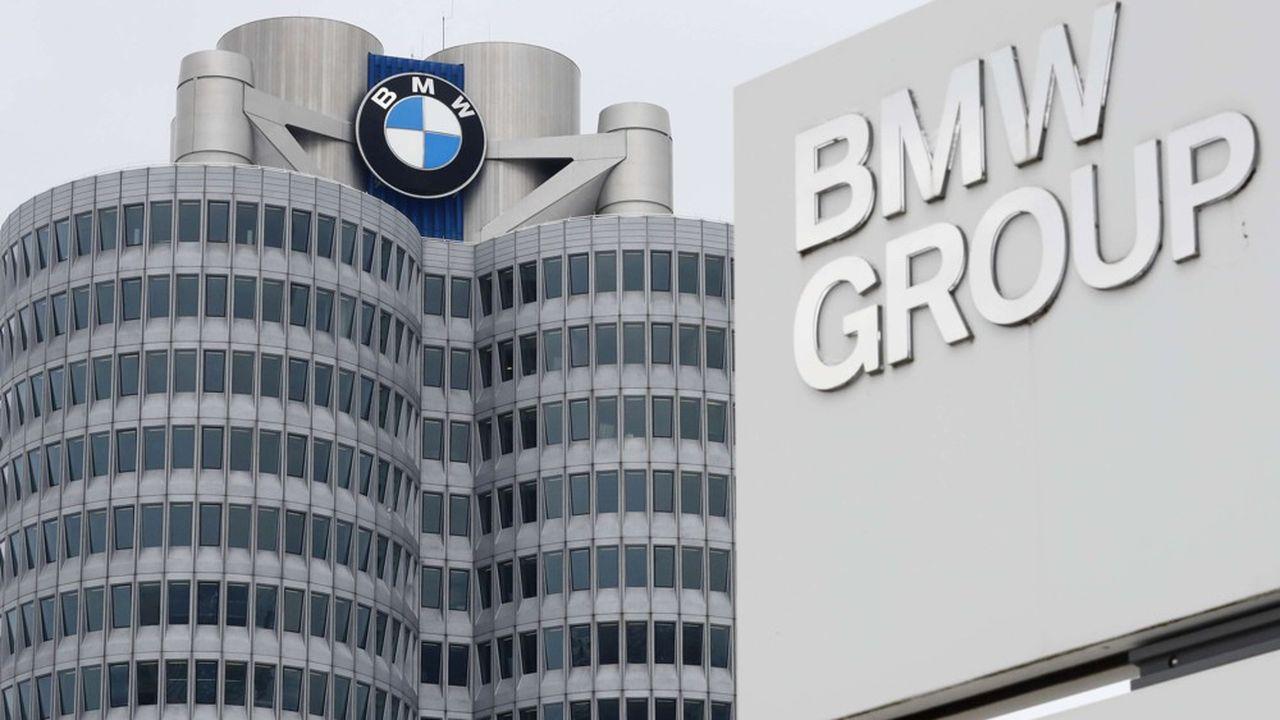 Malgré un chiffre d'affaires record de 104milliards d'euros aidé par les ventes des voitures les plus luxueuses, le bénéfice net de BMW ressort à 5,0milliards d'euros en 2019.