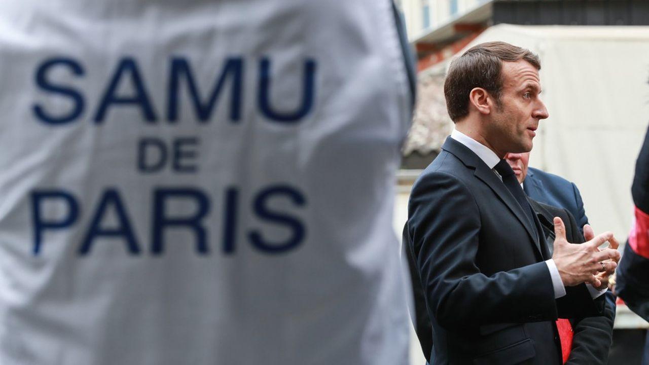 Emmanuel Macron s'est exprimé depuis l'Elysée