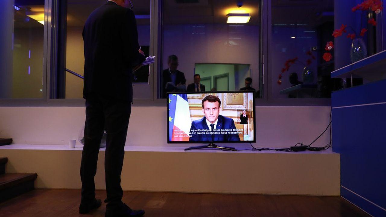 «Tout sera mis en oeuvre pour protéger les salariés et les entreprises» a promis Emmanuel Macron.