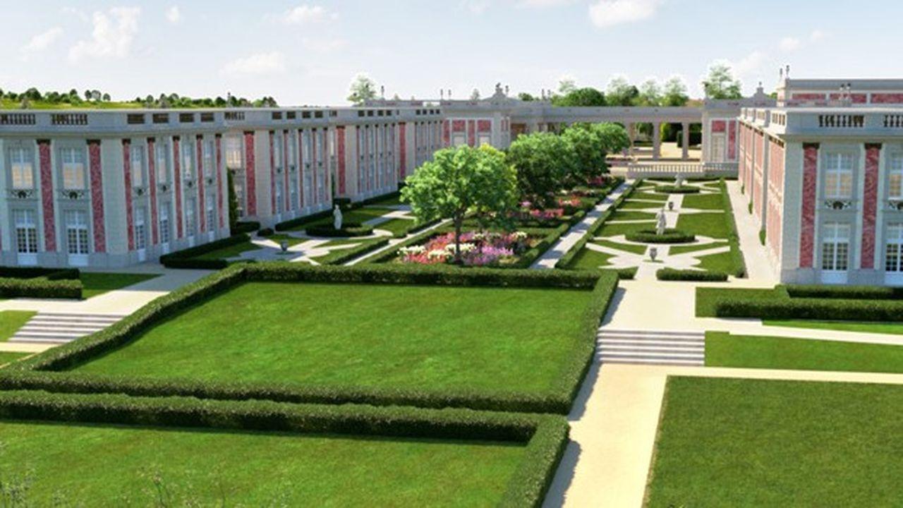 Le Puy du Fou a investi 28millions d'euros dans un nouvel hôtel, le Grand Siècle, inspiré du Château de Marly.