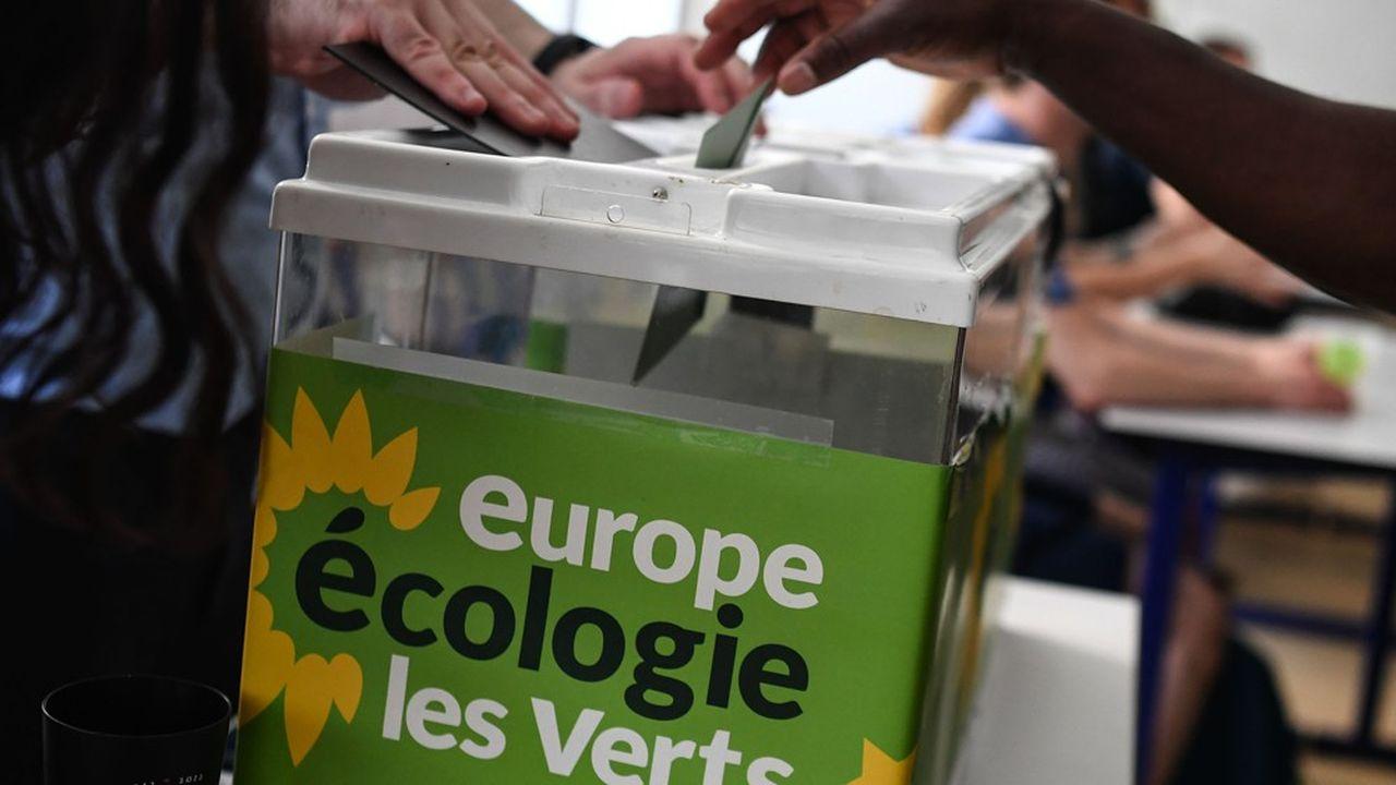 Lors de la primaire écologiste à Paris, le 1erjuin 2019.