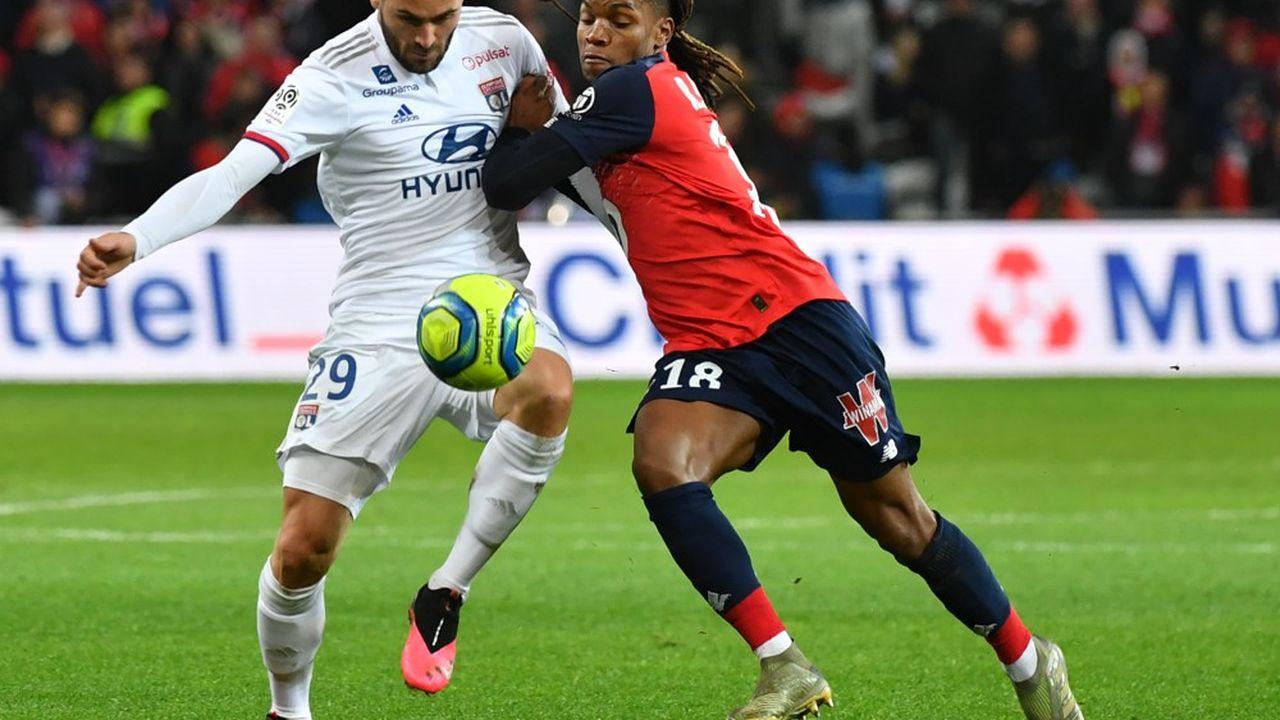 Il y a moins d'une semaine, le match Lille-Lyon se jouait dans un stade rempli.