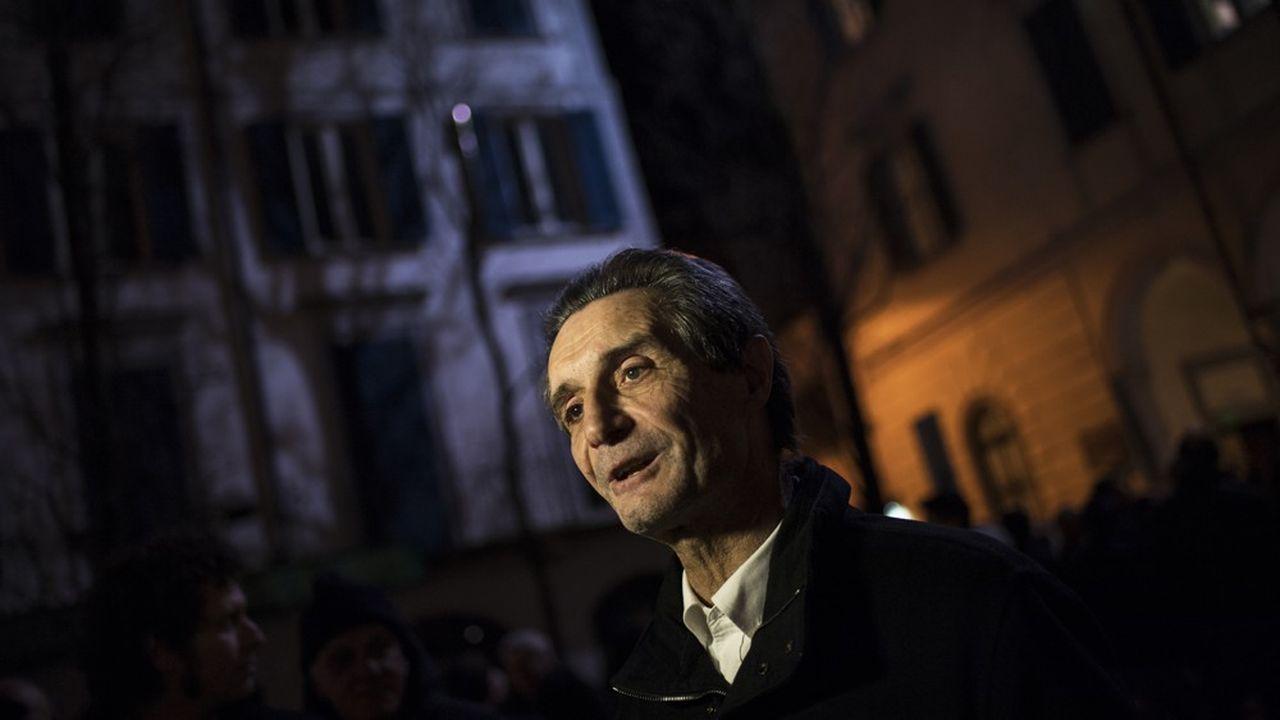 Attilio Fontana, président de la Région Lombardie.