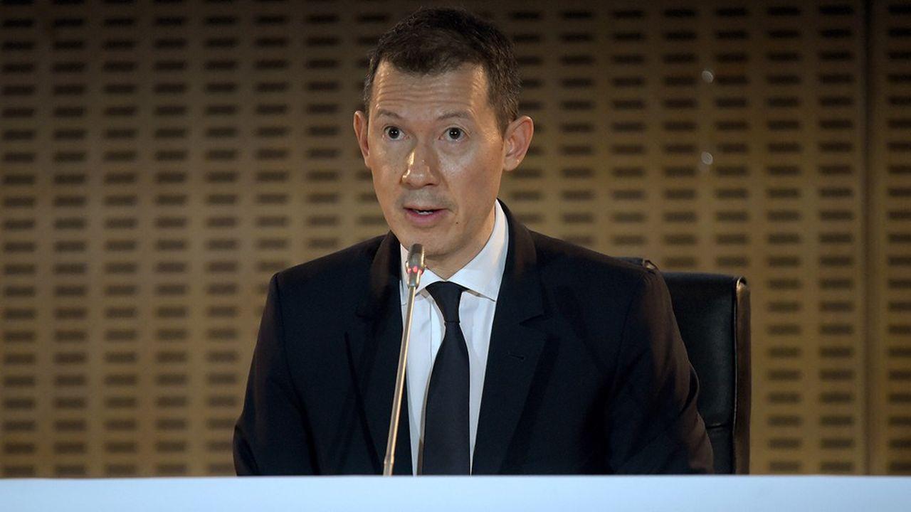 Le patron d'Air France-KLM, Benjamin Smith, a souligné que le groupe avait perdu 50% de sa valeur en un mois.