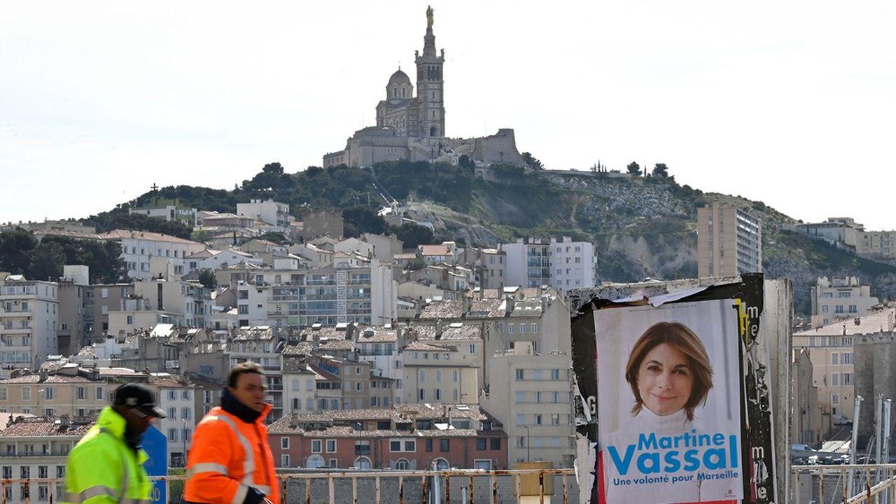 Les municipalesà Marseille sont primordiales pour la droite, qui dirige la ville depuis 1995.