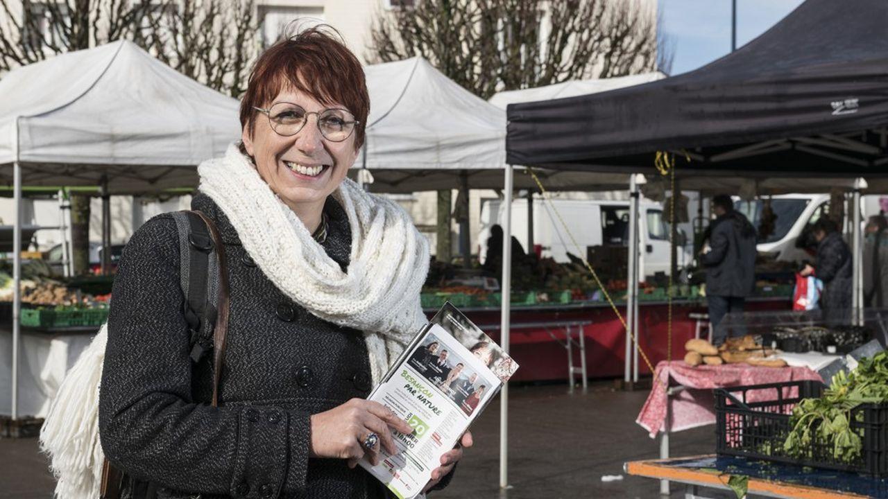 Créditée de 31,2% des suffrages dimanche soir, l'écologiste Anne Vignot est en tête mais le second tour, s'il a lieu, reste très ouvert.
