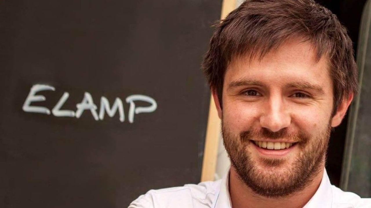 Olivier Rohou, président et cofondateur de l'entreprise lilloise eLamp.